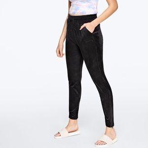 VICTORIA SECRET PINK Velour Track Pants NWT